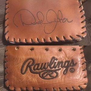 Rawlings Derek Jeter Yankees Baseball Glove Wallet